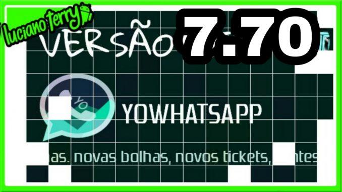 yowhatsapp 7.70